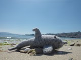 Amigurumi de delfin a ganchillo o crochet