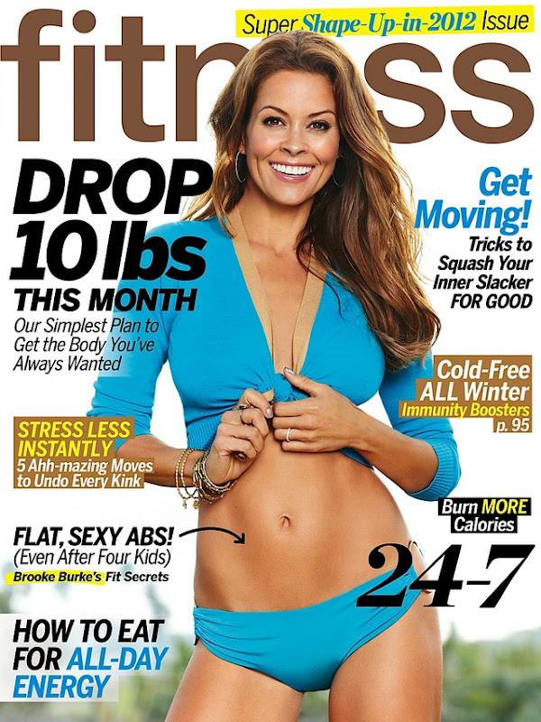 Brooke Burke žurnale Fitness
