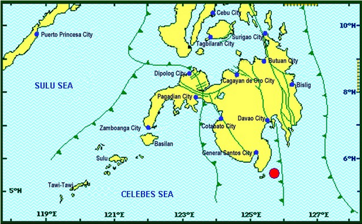 Davao Occidental quake