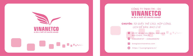 Template name card - Code : namecard167