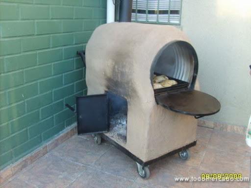 Horno con tambor facil taringa for Como construir un horno