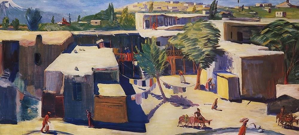 Martiros Saryan - Old Yerevan, 1928