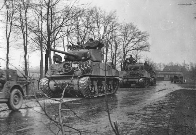 Sherman Tanks