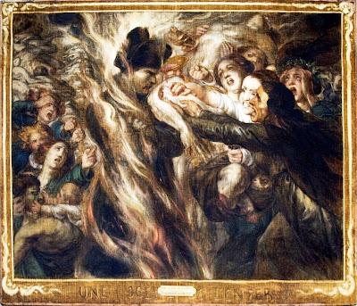 Antoine Wiertz - Scene from the Hell