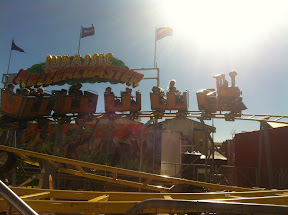 Jurassic Roller Coaster at the Ekka was a huge hit!