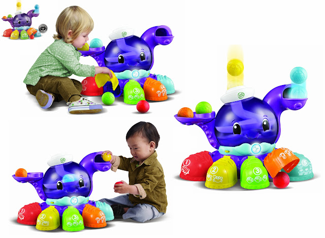 Chơi bóng cùng bạch tuộc màu sắc Leapfrog là món đồ chơi được rất nhiều trẻ em yêu thích