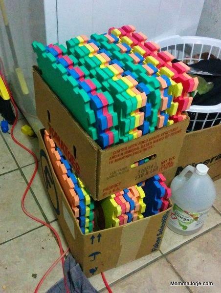 Foam Number Tiles