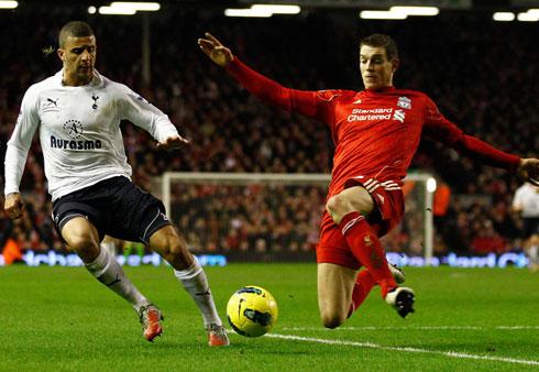 Daniel Agger, Liverpool - Tottenham Hotspur