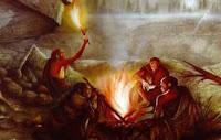 la scoperta del fuoco nella preistoria