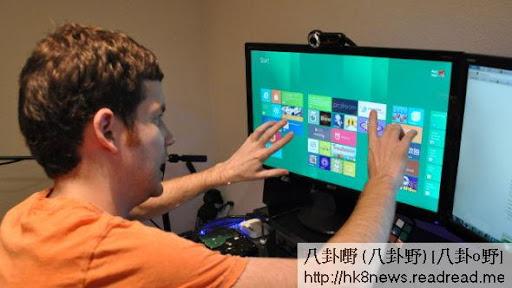 Windows 8引入了动态磁贴,能够更好地適应觸控操作