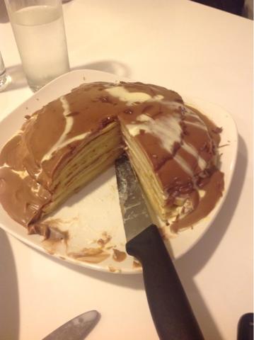 Pancake cake recipe - 09