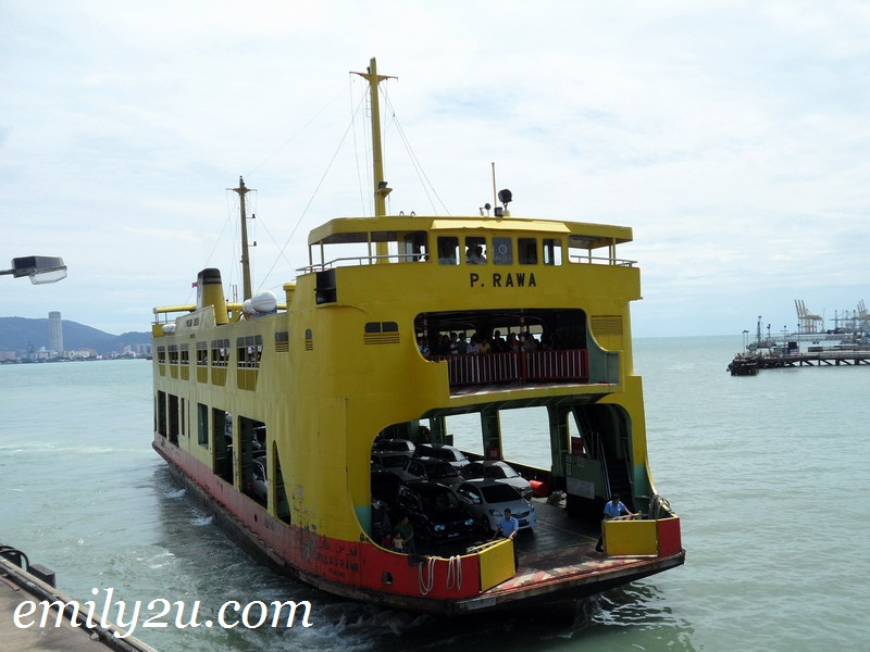 To Penang Island By Ferry