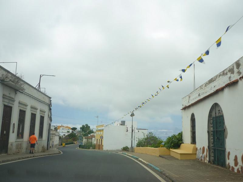 Straße bei Moya