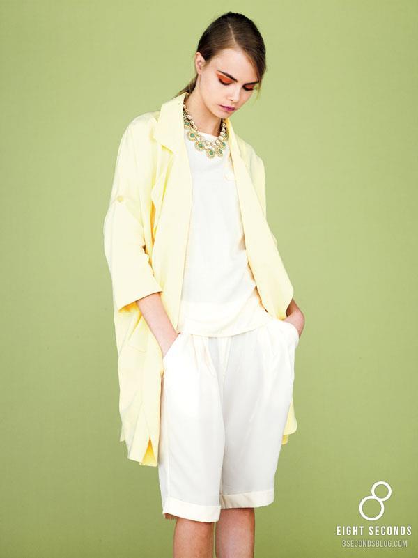 *韓風吹不停:名模Cara Delevingne代言三星旗下品牌 8ight Seconds 2013 SS 6