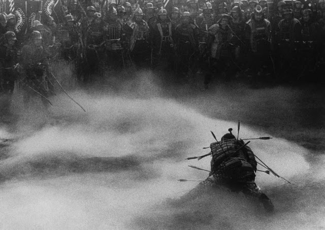 The Wolverine Akira Kurosawa's Throne of Blood Takatoki Washizu (Toshirô Mifune) death