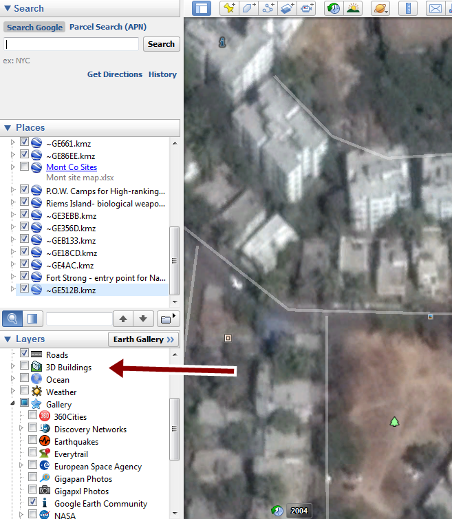 How to turn off 3D images when using historical imagery? - Google