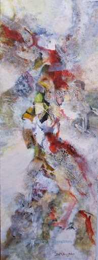 Dance with Passion. Acrylic. Artist Dianne McNaughton