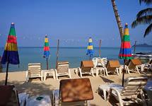 ชายหาดของรีสอร์ท แกรนด์คาบาน่า รีสอร์ท เกาะช้าง
