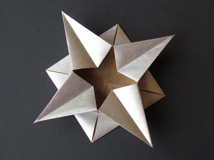 Origami foto Scatola a stella - Star box by Francesco Guarnieri