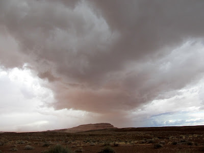 Storm over Gruver's Mesa