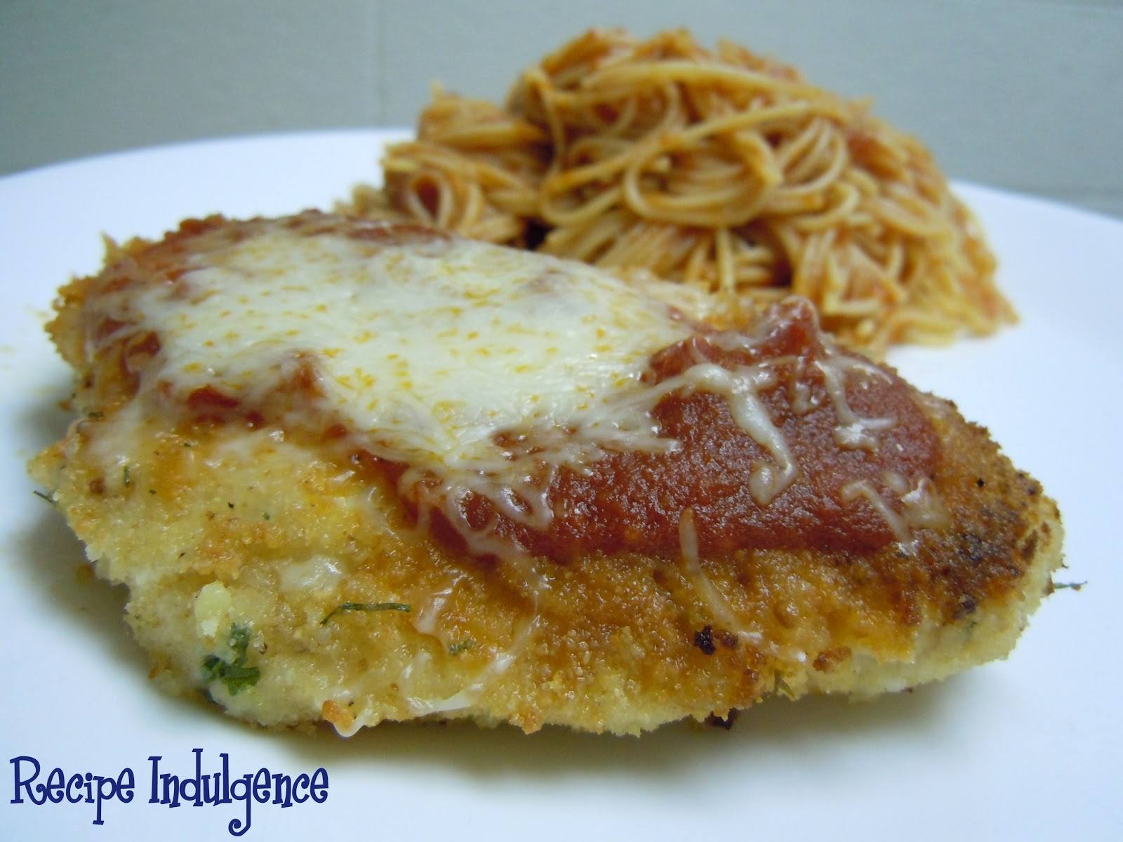 Recipe Indulgence: Baked Chicken Parmesan