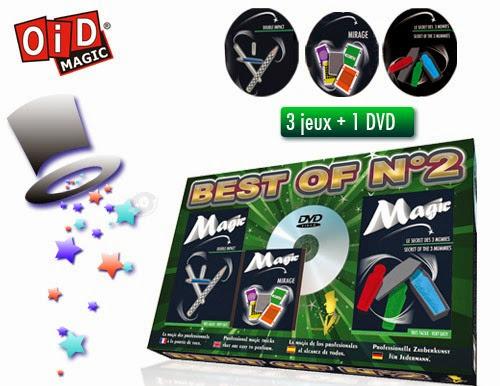 Đồ chơi ảo thuật tổng hợp 2 OiD Magic dạy bé 3 trò ảo thuật kì bí
