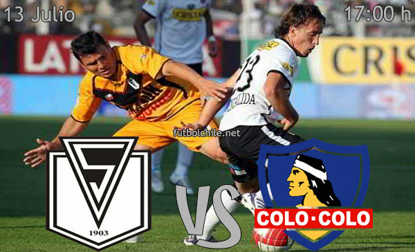 Santiago Morning vs Colo Colo - Copa Chile - 17:00 h - 13/07/2013