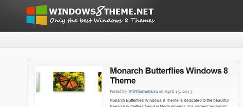 free windows 8 theme