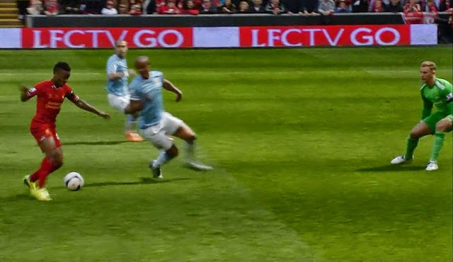 Sterling, Liverpool - Manchester City
