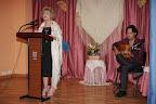 Carmen Carrasco acompañada del guitarrista flamenco Christian Sabalete