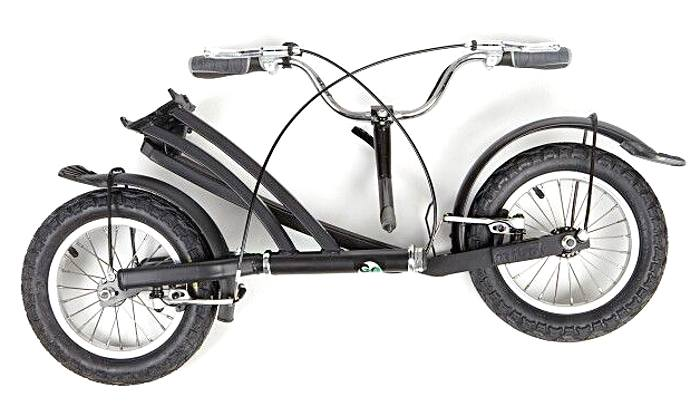 trottinette tcheque Mibo Tiny pliee