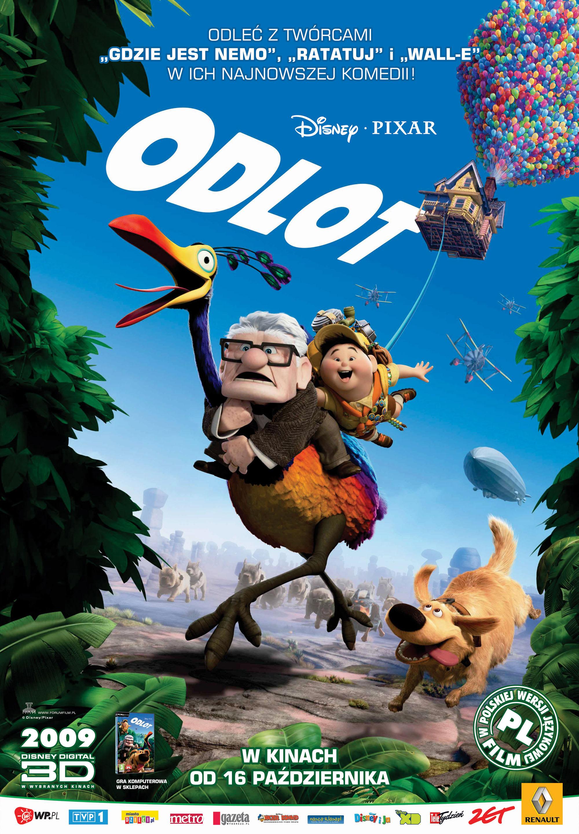 Polski plakat filmu 'Odlot'