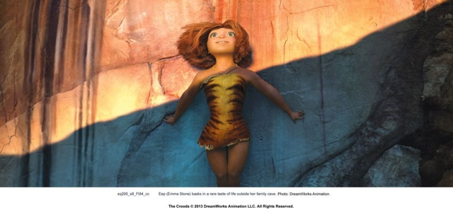 Dreamworks The CROODS Preview