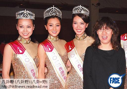 無綫綜藝科總監餘詠珊喺 TVB舉足輕重,是次港姐表演項目亦有份參與畀意見。《蘋果日報》圖片