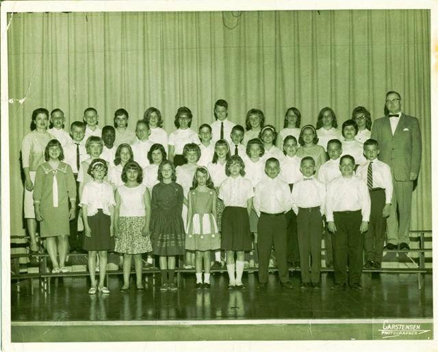 Madison Elementary 6-1, 6-2 1965