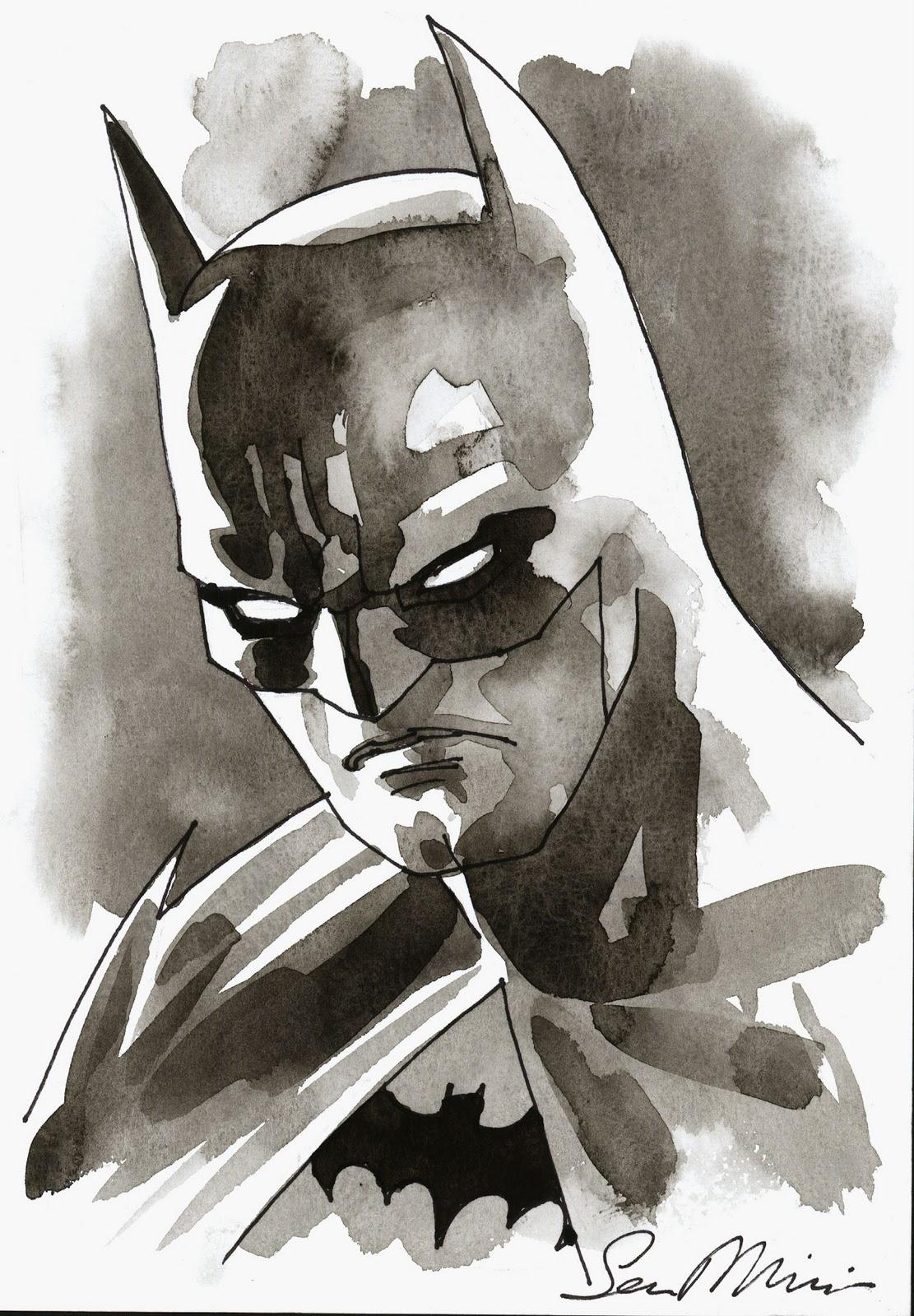 another batman sketch