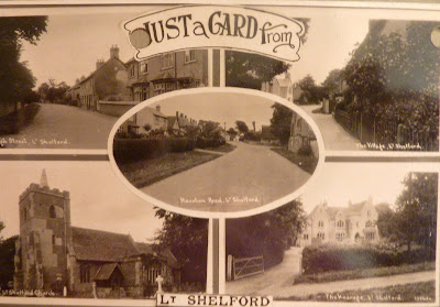Little Shelford postcard
