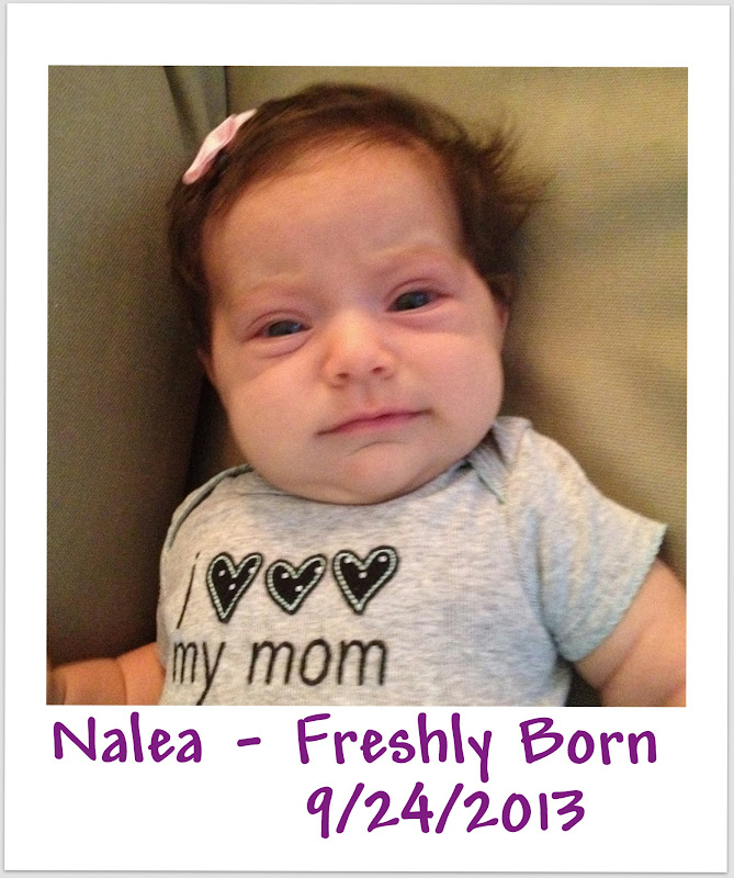 Happy 1st Birthday from Spirit of Life to Nalea