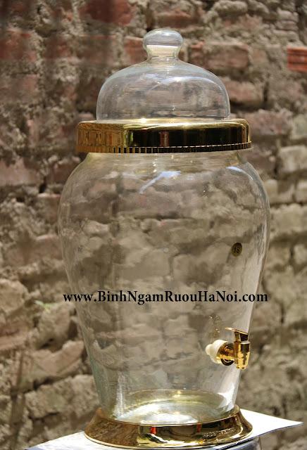 Bình sâm cao cấp Made in VietNam 10 lít có vòi