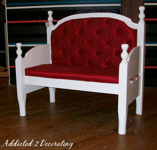 But Just Think Of How Many Diffe Looks You Could Give A Bench Like This Distress The Finish And Add Grain Sack Pillows For French Country