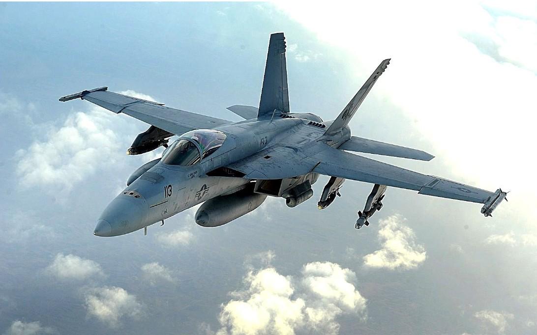 F-18 Super Hornet Jet Fighter Wallpaper 1