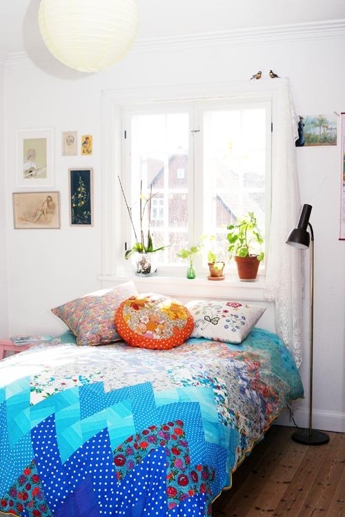 Strawberry life: omrokering i soveværelse...
