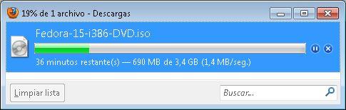 Descarga del fichero ISO, preparación del CD/DVD, configuración arranque
