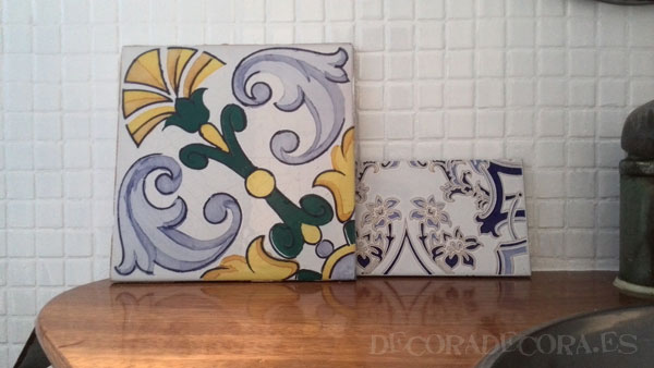 Pintar azulejos baño