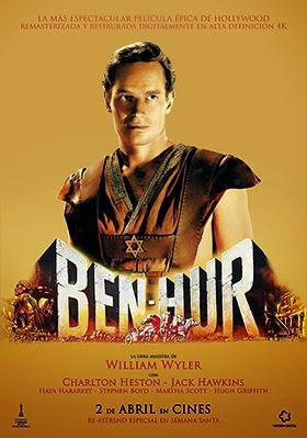 Ben-Hur, vuelve a las pantallas una de las mayores superproducciones de Hollywood
