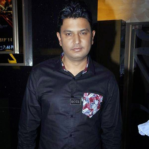 Bhushan Kumar during the trailer launch of Bollywood movie Creature 3D, held at PVR, on July 16, 2014.(Pic: Viral Bhayani)
