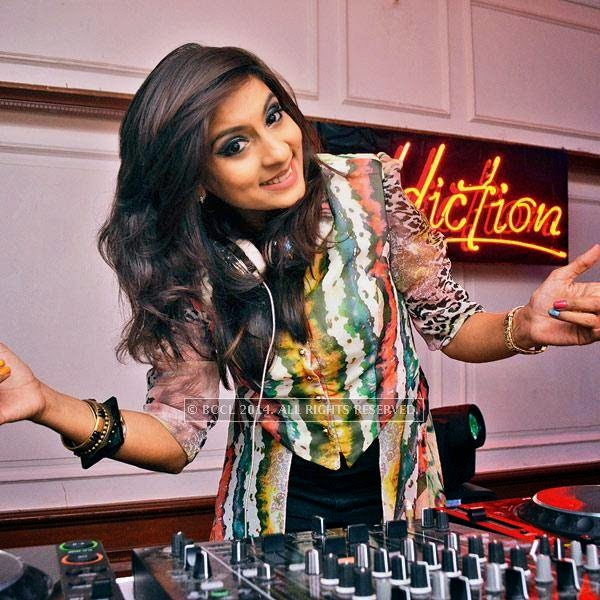 DJ Rink at a party, held in Bhopal.