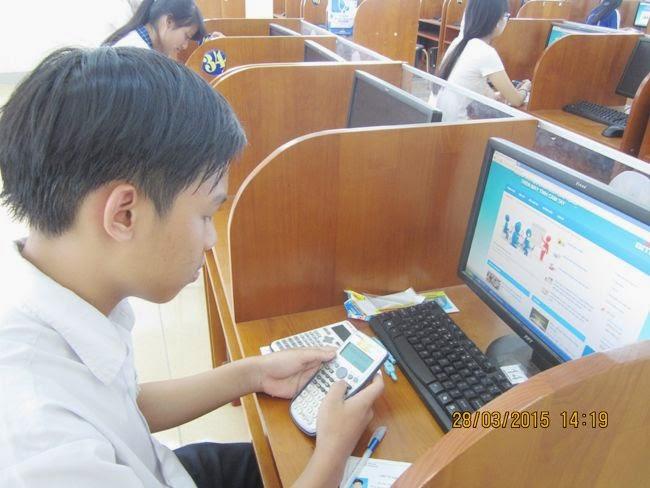 Kết quả cuộc thi giải Toán trên máy tính cầm tay cấp Quốc gia năm học 2014 - 2015