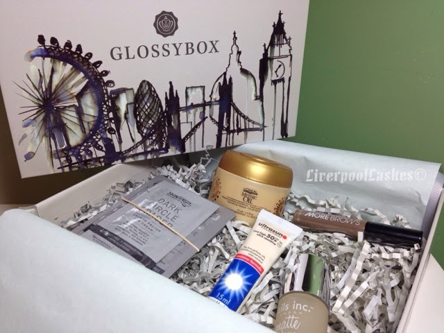 glossybox september 2014 liverpoollashes liverpool lashes karen millen designed box beauty blogger