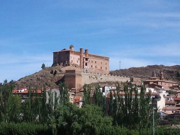 Palacio-castillo del Papa Luna en Illueca